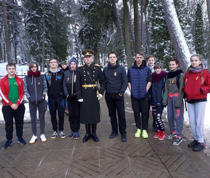"""Dalyvauta XXVIII tradiciniame tarptautiniame pagarbos bėgime """"Gyvybės ir Mirties keliu"""""""