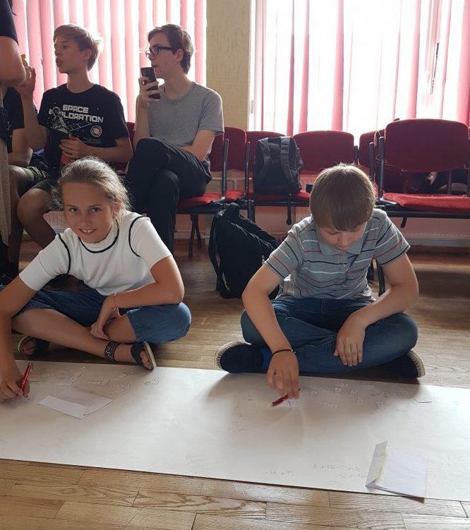 Matematikos mokytojų ir mokinių išvyka į Vilniaus Šv. Kristoforo progimnaziją