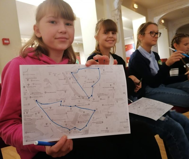 6D klasė lankėsi Vilniuje