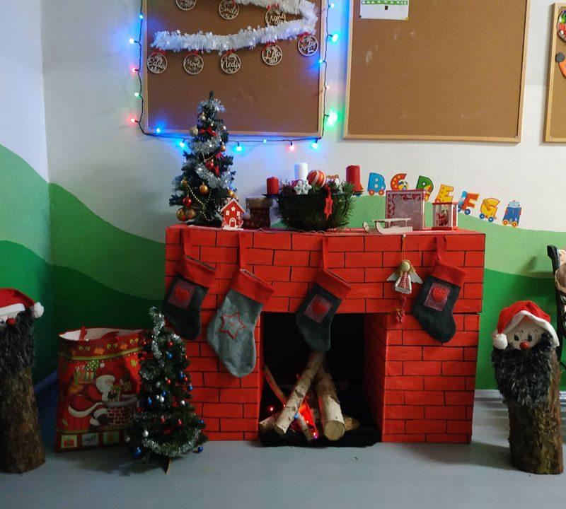Kalėdinė nuotaika sklando Zibalų skyriuje