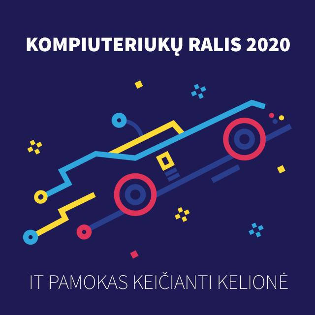 """""""Kompiuteriukų ralis 2020"""""""