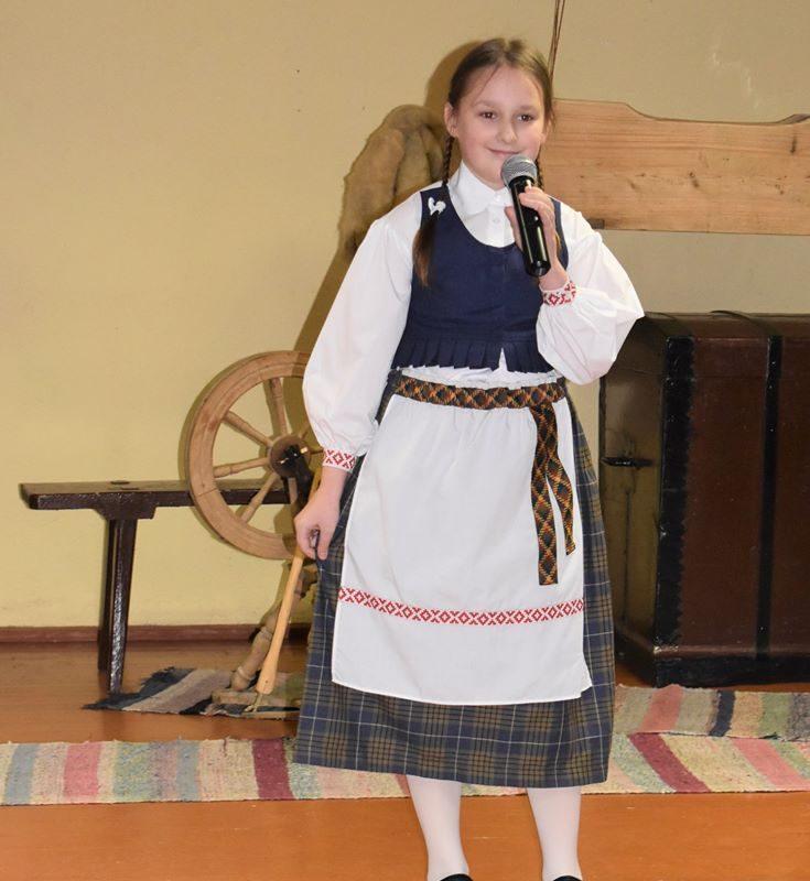 Dalyvavo Zibalų seniūnijos teatralizuotame koncerte