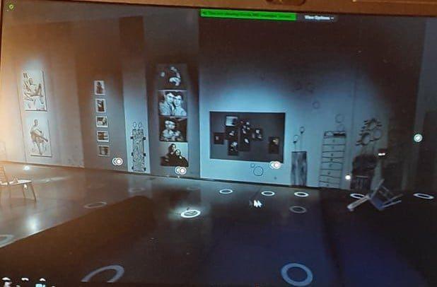 Dalyvauta virtualioje parodoje 3D formatu