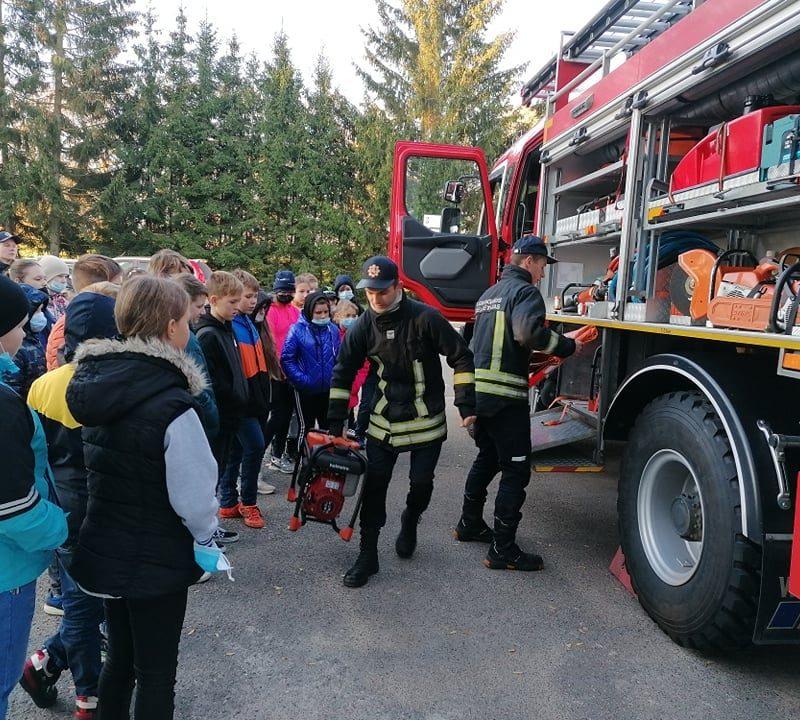 Aplankyta Širvintų priešgaisrinė gelbėjimo tarnyba